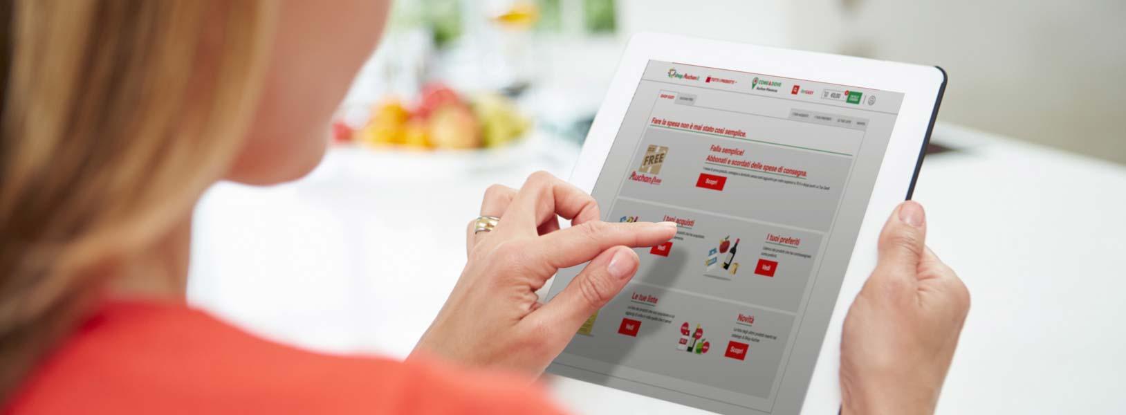 Il nuovo servizio di spesa online di Auchan