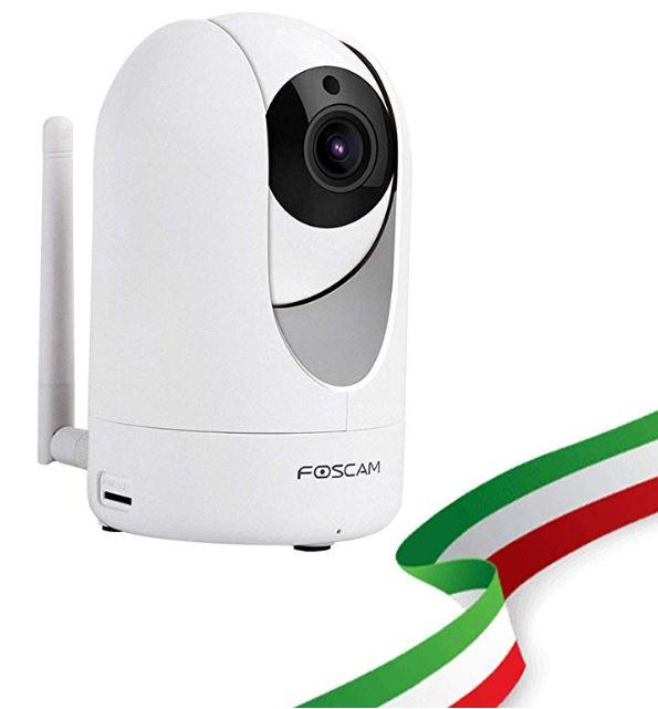 Codice sconto 5% telecamera sicurezza