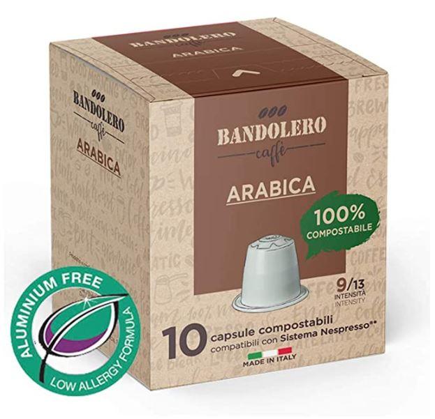 Codice sconto 20% capsule arabica