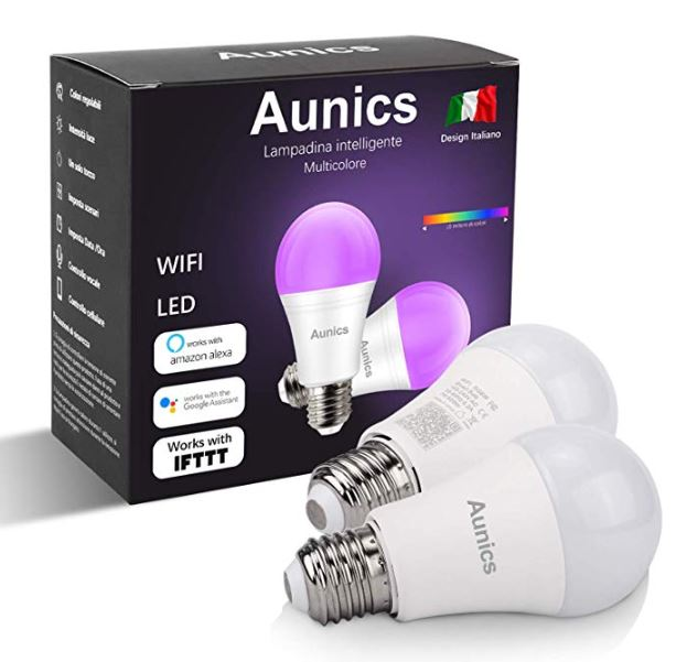Coupon 8% lampadine smart