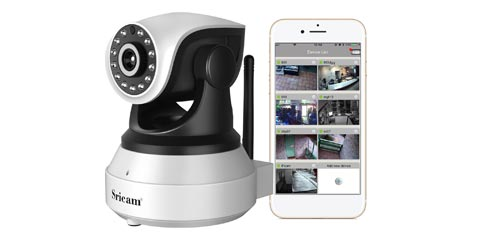 Coupon 16€ videocamera IP