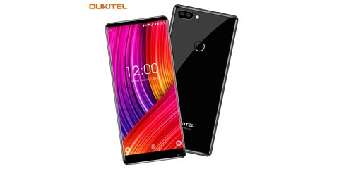 Coupon 40€ smartphone Oukitel Mix 2